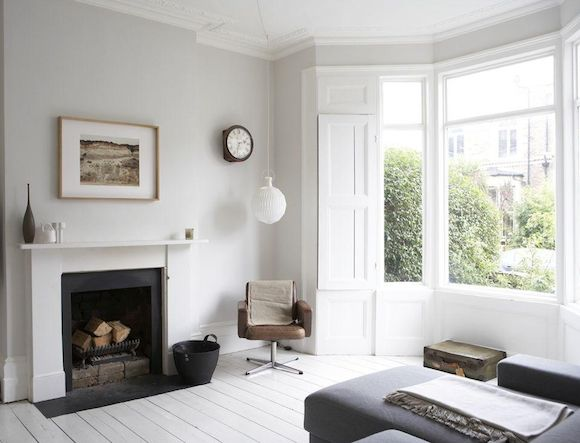 Victorian Terrace House Love this shade of paint on the walls