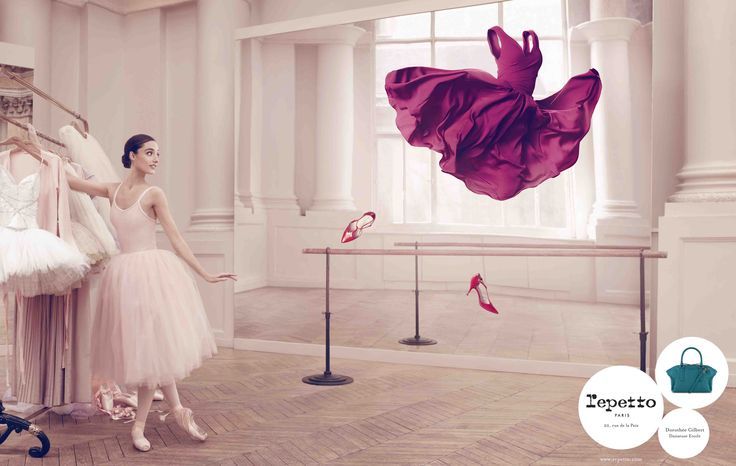 Repetto's Campaign, Fall-Witer 2014 with Dorothée Gilbert, Prima Ballerina