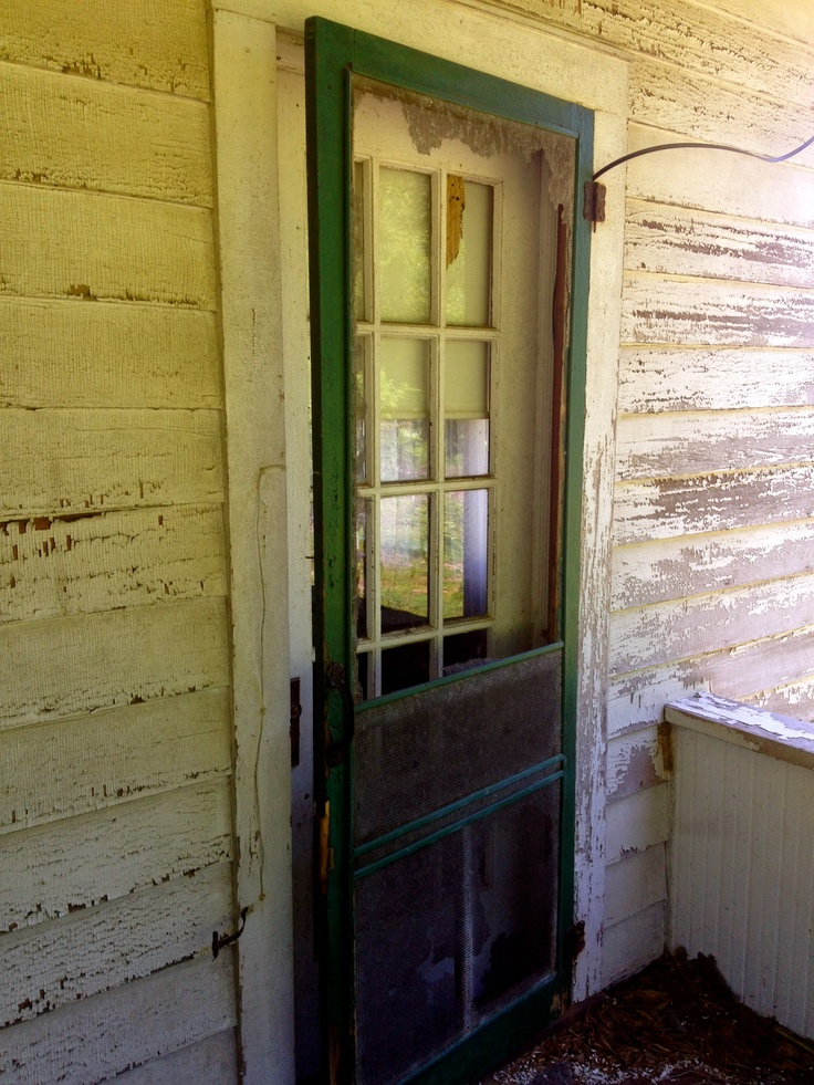 Nice Green Screen Door 2~House Of History, LLC.