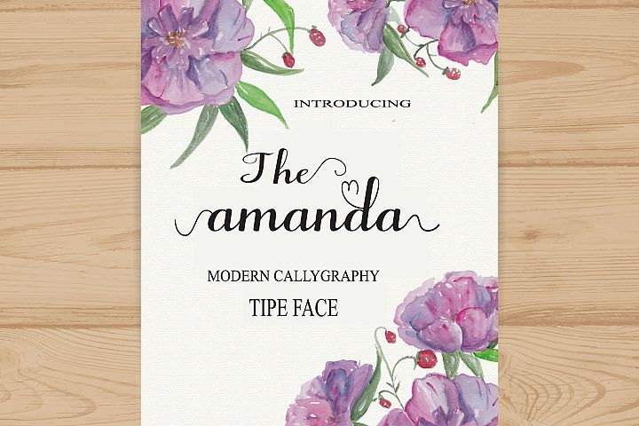 Amanda Just $4.00 for a limited time. #ad.