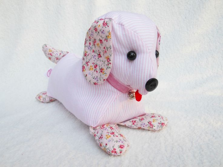 This cute little dog can be used as a doorstop.