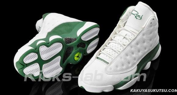 AIR JORDAN 13 RETRO バスケットシューズ ナイキ エアジョーダン 13 White Green Nike0077