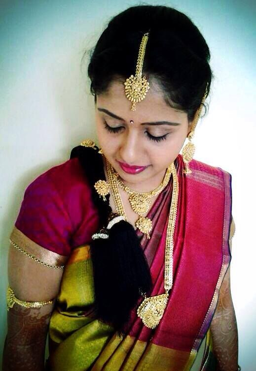 Incredible Traditional South Indian Bride39S Bridal Braid Hairstyle Indian Hairstyle Inspiration Daily Dogsangcom