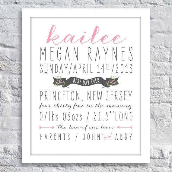 95 best birth announcements images – New Jersey Birth Announcements