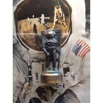 Sacapunta Metal Retro Alunizaje Astronauta Armstrong 1969