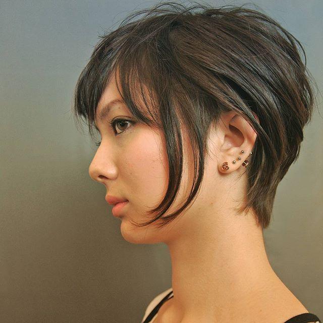 最高にクール。女性のブロックヘア参考一覧です♡
