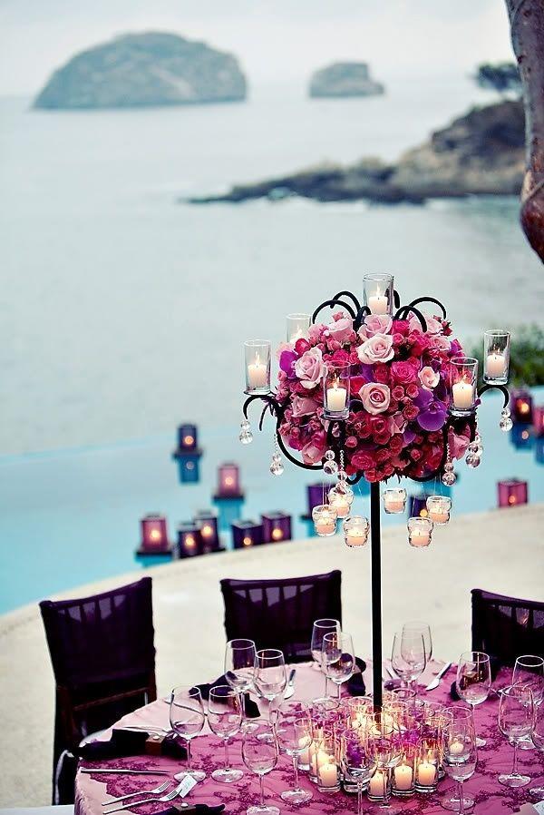 La decoración más elegante para bodas en la playa