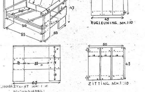 Best 25 rietveld chair ideas on pinterest bauhaus chair for Steltman stoel afmetingen