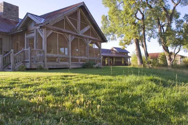 147 best images about timber frame on pinterest for Custom home builders wyoming