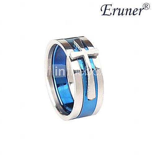 Anéis Jóias Liga Masculino Anéis Grossos Preto / Azul - BRL R$10,11
