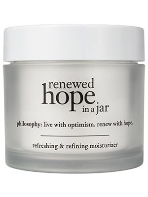This anti-aging Philiosophy moisturizer leaves skin seriously glowing in about a half hour....