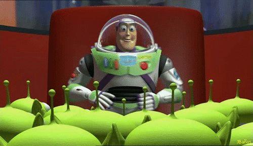 Buzz y Woody atrapado en la maquina de los Guisantitos - Toy Story 1