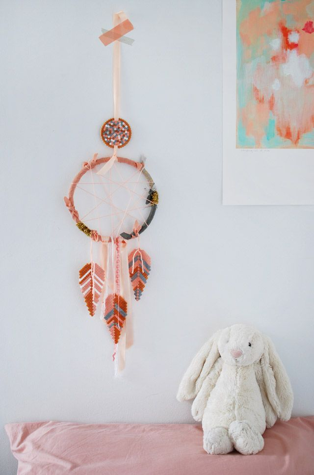 DIY Hama Bead Dream Catcher