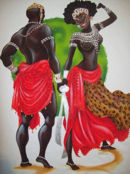 Oya and Shango and Oya | The Seven Worlds