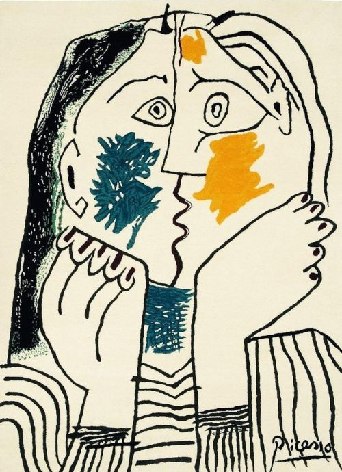 ART is my second name                                         Pablo Picasso - Il bacio