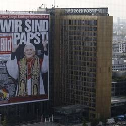 Alemania; el Vaticano demanda a una revista satírica
