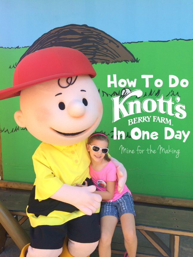 How to do @knottsberryfarm in one day while making the most of it! #travel #familytravel #spon