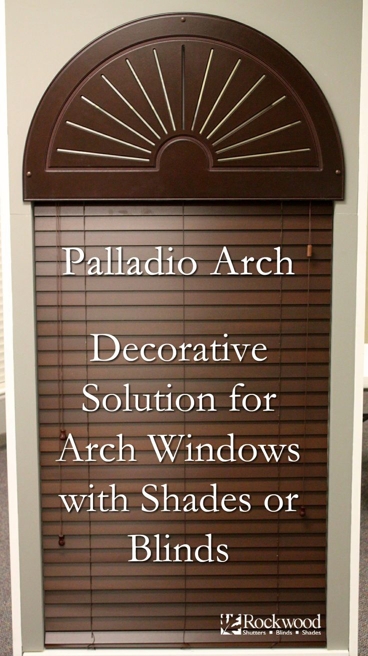 Palladio Arch Decorative Solutions For Arch Windows With