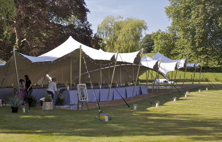 Banquet wedding tent #stretchtent #alternativemarquee #event #weddingvenue #eleganttent #moderntent #modernmarquee #Freestretch