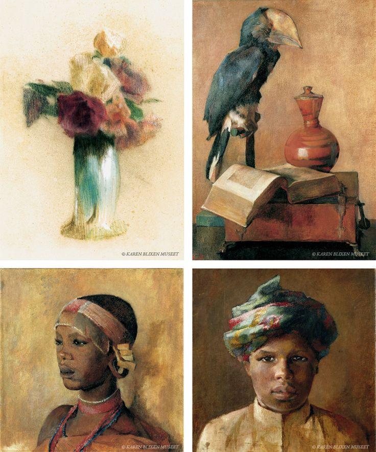 Karen Blixen (1885-1962) mestrede ikke kun skrivekunsten. Disse fantastiske billeder kan ses på Karen Blixen-museet i Rungstedlund