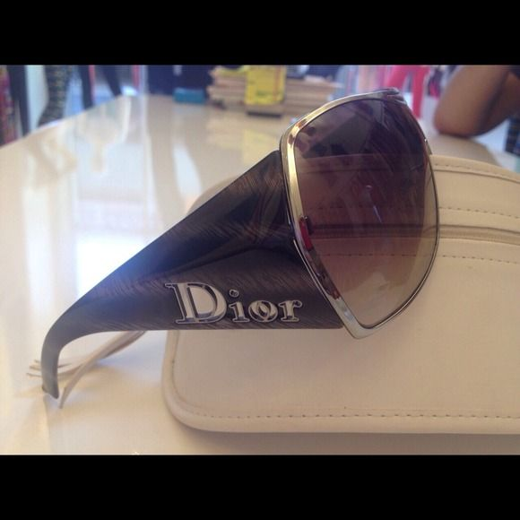 """Selling this """"Dior sunglasses"""" in my Poshmark closet! My username is: ckitig. #shopmycloset #poshmark #fashion #shopping #style #forsale #Dior #Accessories"""