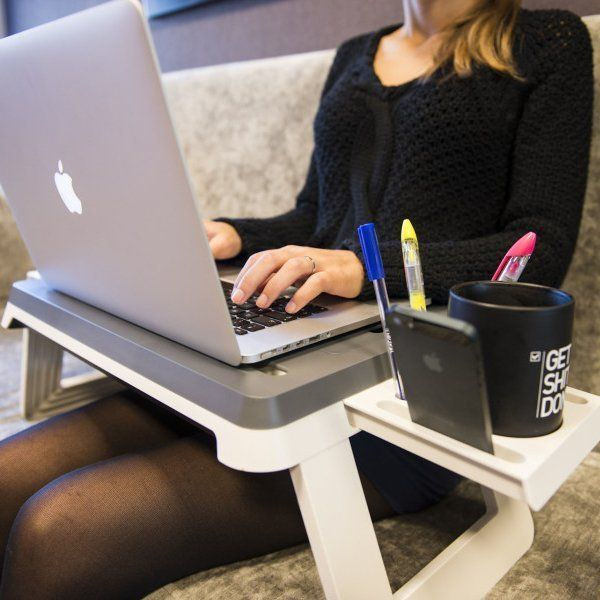 The Portable Desk from 'Unikia' Takes Your Office to Your Bed trendhunter.com