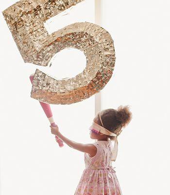 DIY Birthday Piñata | Faceted Birthday Piñata | Confetti Pop