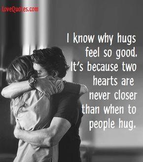 Hugs Feel So Good - Love Quotes - http://www.lovequotes.com/hugs-feel-so-good/