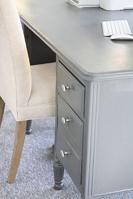Refinishing a Desk - Coordinately Yours by Julie Blanner entertaining & design that celebrates life