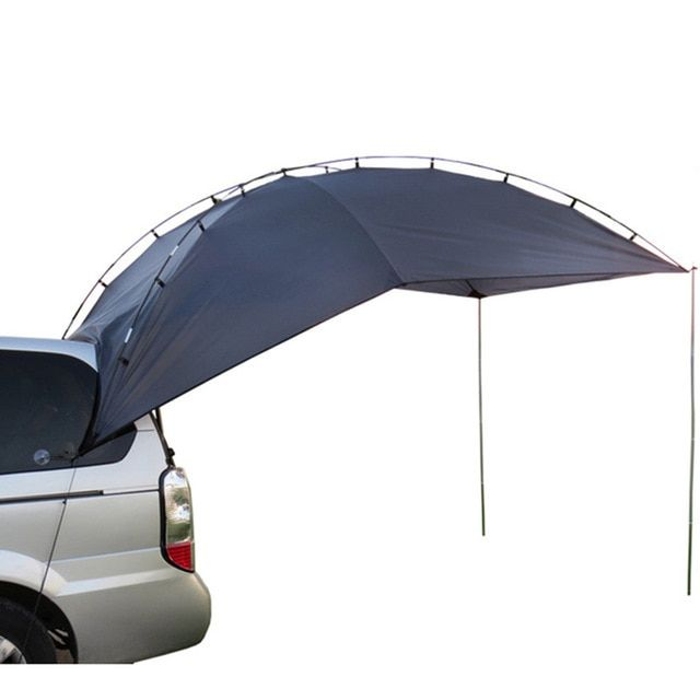 Grntamn Car Awning Camper Camping Tent With Pole For All Suv Mpv Anti Uv Canopy Tenda Tents Tienda De Techo Review Car Tent Camping Car Tent Tent Camping