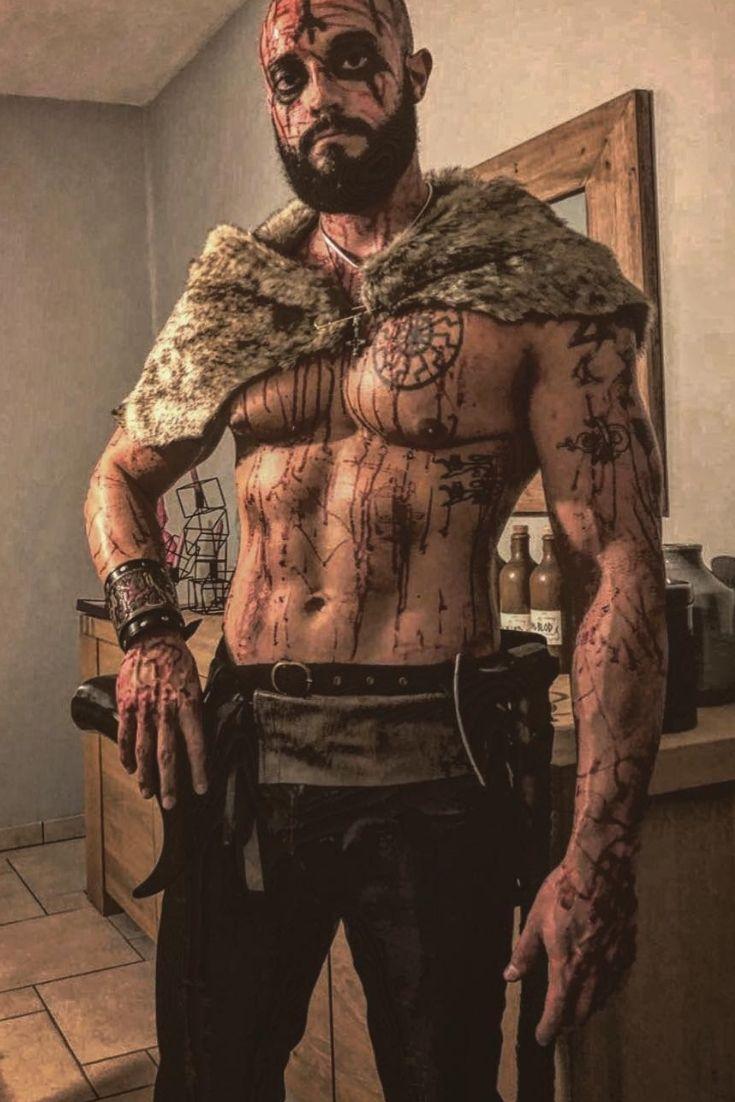 Viking Bearded Warrior Ig Graig Gautwald V K N G Ambassador
