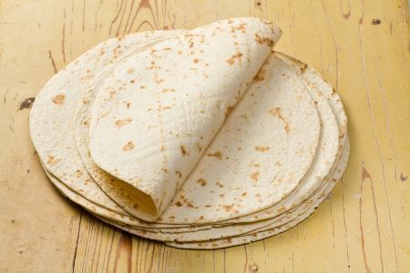 Tortillas/wraps de farinha de grão germinado | Clube Slim Down