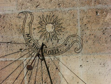 Cómo construir un reloj de sol