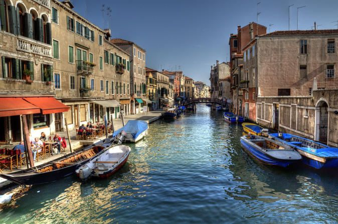 Venice Canal Cruise: Grand Canal and Secret Canals by Motorboat Explore some of the smaller, secret Venetian canals by motorboat on a 2-hour cruise, and discover the neighborhoods of Cannaregio, the Jewish Ghetto and Dorsoduro as well as the Grand Canal, too! While hearing anecdotes and history about the enchanting city from an onboard guide, look out for sights such as the Arsenale shipyard alongside intriguing lesser-known landmarks. See craftsmen at work at a gondola boat w...