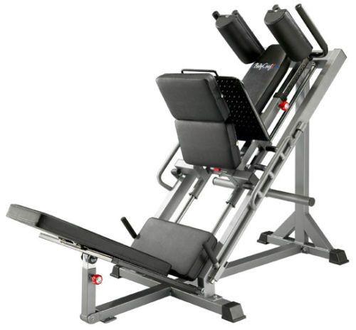 Bodycraft F660 Linear Bearing Hip Sled Leg Press / Hack Squat / Calf Exercise
