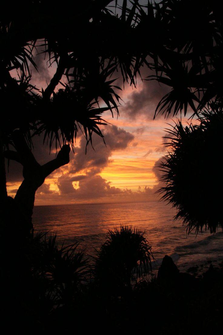 Sunrise on Burleigh Beach