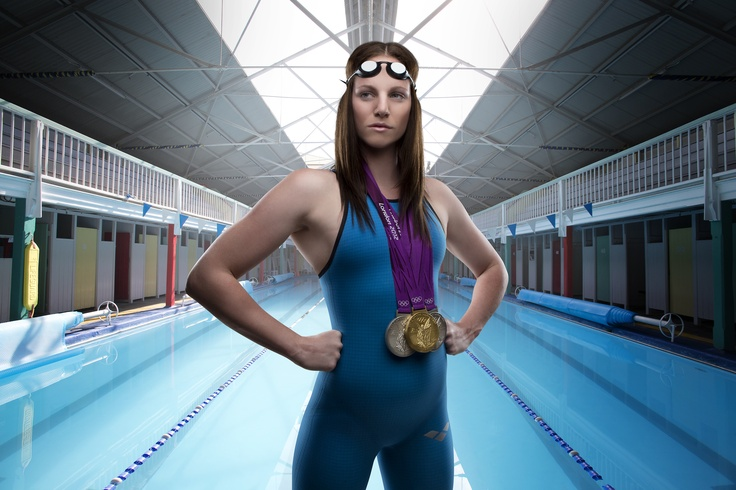 Olympic gold medalist Emily Seebohm.
