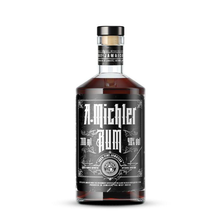 A.Michler Dark Rum