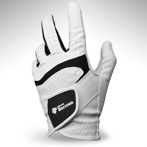 1pcs Left Hand Golf Glove Men White Cabretta Soft Size 22-23-24-25-26 #Unbranded