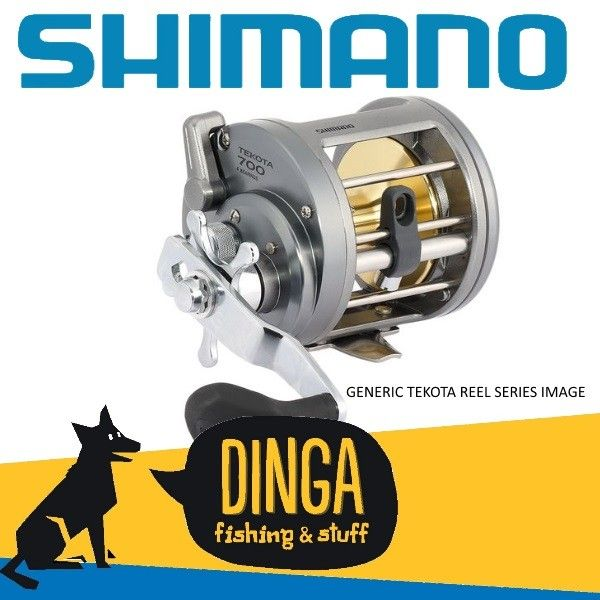 Shimano Tekota Overhead Levelwind Fishing #Reels  offered on February Sale in Australia provided by Dinga Fishing Tackle Shop!