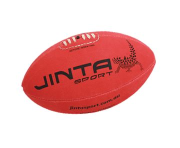 Football - Aussie Rules Ball Size 5. 'All-weather, high-grip surface means year-round play. Certified fairtrade, the purchase of these balls also helps fund community develop projects in third world countries AND sports programs for Aboriginal children in Australia.' #fairtrade #aussierules #football #ballsforgood