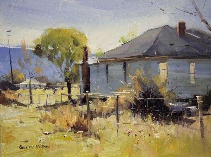 Midday Sun, Colorado • 9x12, oil. Colley Whisson. $1400