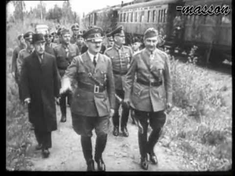 Hitler meets Mannerheim in Finland 4, June 1942