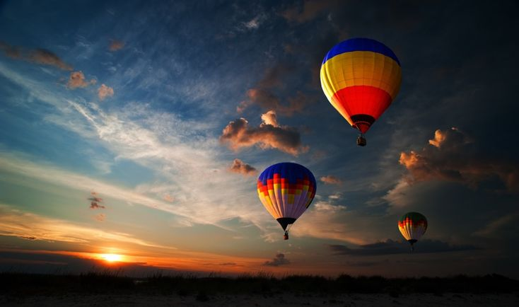 Hot Air Balloons, one of the most tried out activities in this amazing valley — at Yarra Valley.