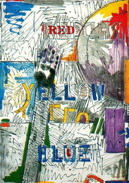 .jasper johns. art ideas for the 1st Republic of Catalonia. 1strepublicofcatalonia.cat. #catalanrevolution