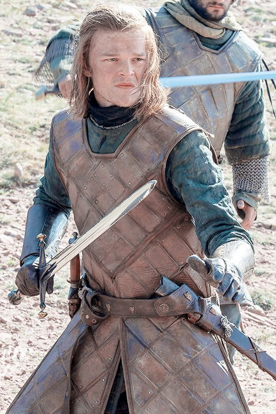 Young Ned Stark at the Tower of Joy. The casting was spot on - he's scarily like older Ned!