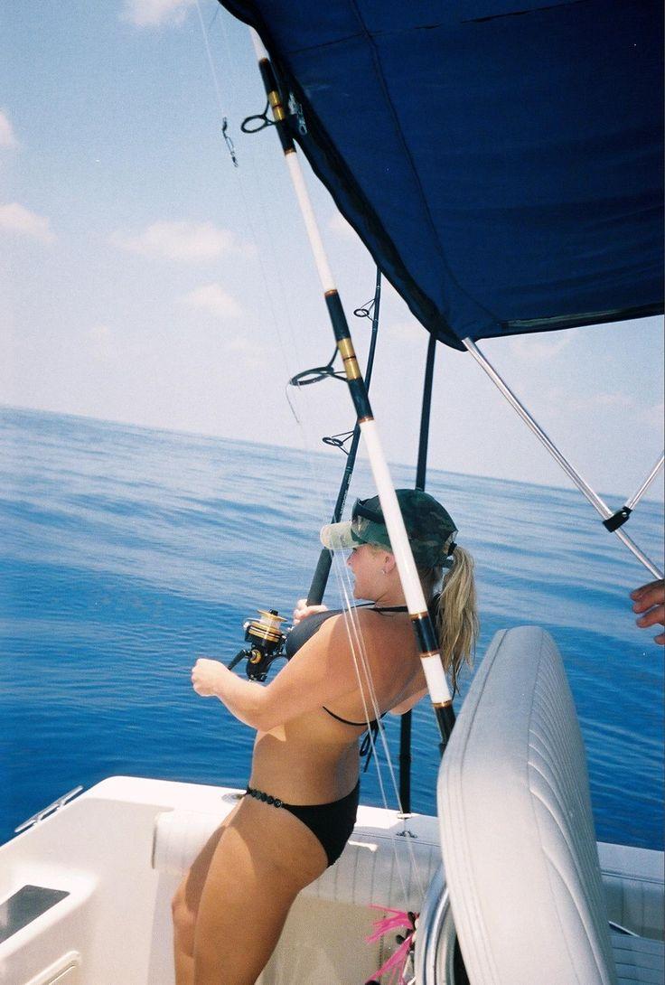 women deep sea fishing - see more camping and fishing tips at www, Hard Baits