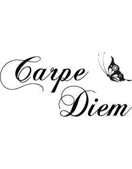 Stickers citation Carpe Diem