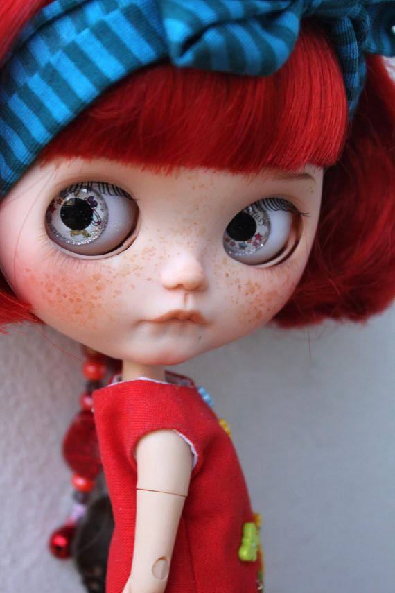 Fantasie - OOAK benutzerdefinierte Blythe Puppe von Meadowdoll