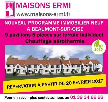 Média réf. 2960 (1/2): Nouveau programme immobilier neuf à Beaumont-sur-Oise